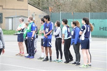 Staff vs. Student Netball Match March 2018